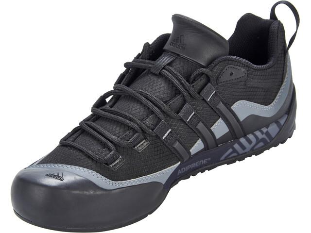 ef4333ceb adidas TERREX Swift Solo 2 Shoes Men black/black/lead at Addnature.co.uk